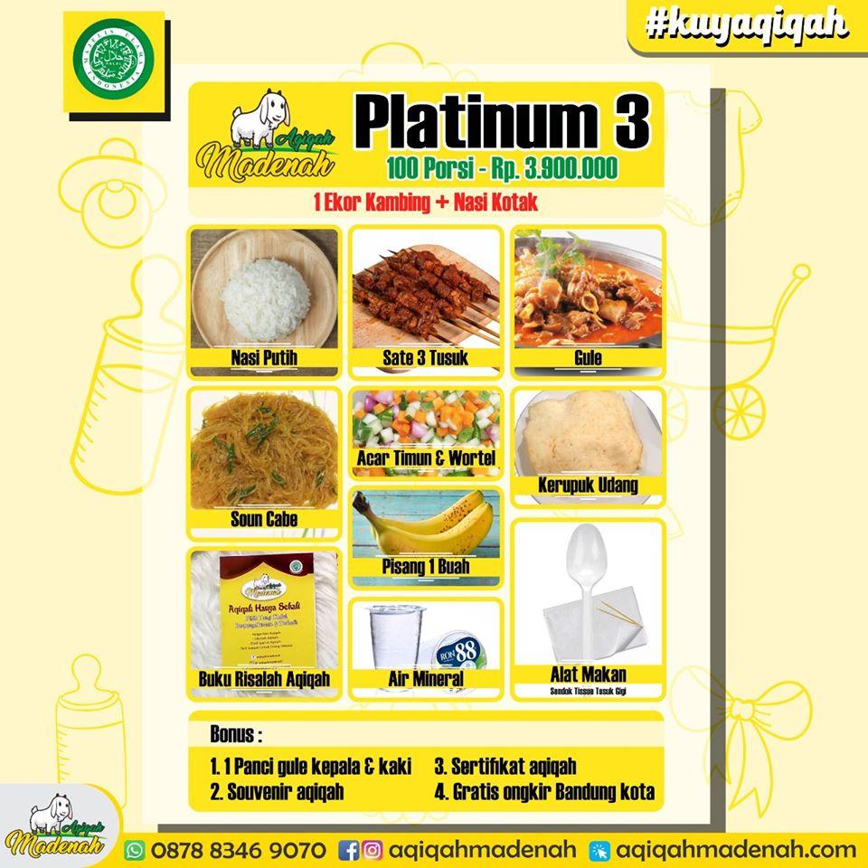 paket platinum akikah cimahi